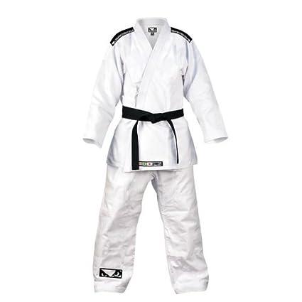 Bad Boy Mens Standard Jiu Jitsu Bjj Single Weave Gi Boxing, Martial Arts & Mma White To Enjoy High Reputation In The International Market Sporting Goods