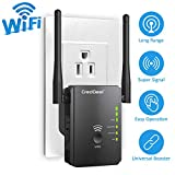 Best Dual Wifi Range Extenders - WiFi Range Extender-N300 Wireless Booster with High Gain Review