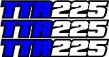 250 yamaha quad - Yamaha Ttr225 Swingarm Airbox Decals Sticker TTR 225 Dirtbike Racing Mx Graphics Atv