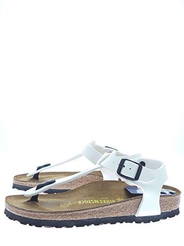 Birkenstock - Chanclas unisex blanco