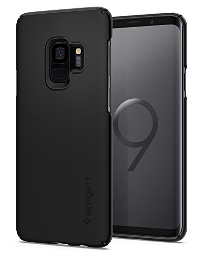Spigen Thin Fit Galaxy S9 Case with SF Coated Non...