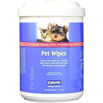 Davis 160 Count Pet Wipes