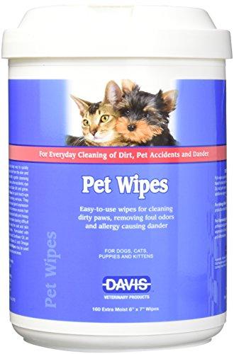 - Davis 160 Count Pet Wipes