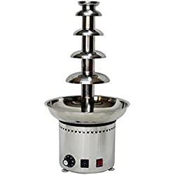 Large 5 Tiers Stainless Party Hotel Commercial Chocolate Fountain