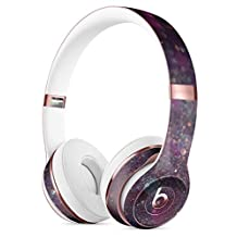 Purple and Pink Unfocused Glowing Light Orbs DesignSkinz Full-Body Skin Kit for the Beats by Dre Solo 3 Wireless Headphones / Ultra-Thin / Matte Finished / Protective Skin Wrap