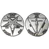 Lucifer Morning Star Moneda Pentecostal Coin Vintage con