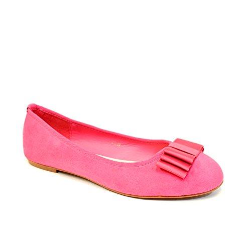 EnvyLondon Pink EnvyLondon Suede Balletto Balletto donna dHIwq5d4x