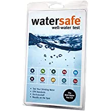 WaterSafe Well Water Test Kit - for Drinking Water in Home Tap and Well Water | Simple Testing Strips for Lead, Copper, Bacteria, Nitrate, Chlorine, and more | Made in the USA to EPA Standards