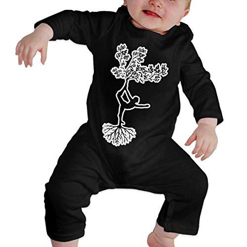 Mydufish Bodysuits Newborn Baby Girls Boys Long Sleeve