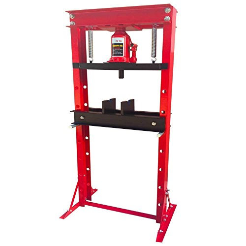 Shop Press Floor Press H Frame Load capacity: 20 ton Overall height: 61