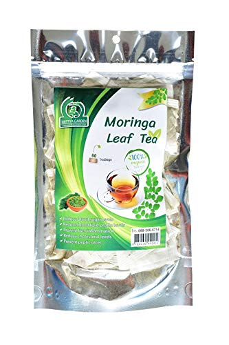 Organic Moringa Oleifera Leaf Tea 60-Teabags