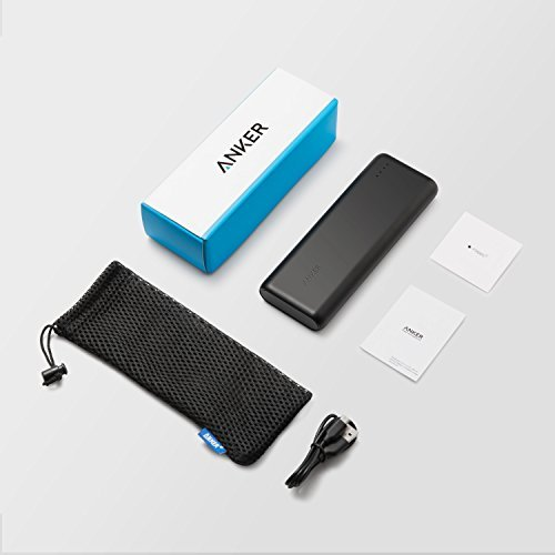 Anker PowerCore Speed 20000, 20000mAh Qualcomm Quick Charge 3.0 & PowerIQ Portable Charger, with Quick Charge Recharging, Power Bank for Samsung, iPhone, iPad and More by Anker (Image #6)