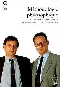 Méthodologie philosophique par Choulet