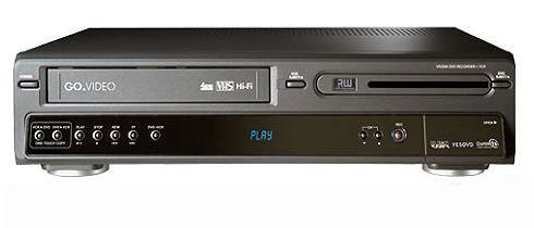 Go Video VR2940 DVD Recorder/VCR Combo
