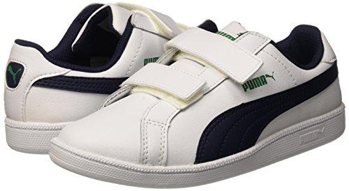 Puma Smash Fun L PE Sneaker V, Color Blanco/Peacoat 12