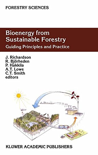 Bioenergy from Sustainable Forestry: Guiding Principles and Practice (Forestry Sciences) PDF