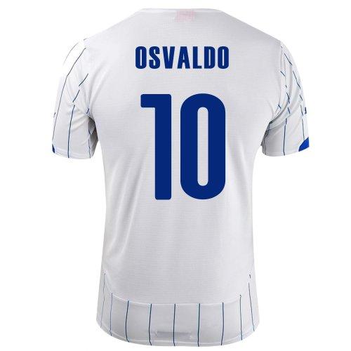 メッセージ不均一荷物PUMA OSVALDO #10 ITALY AWAY JERSEY WORLD CUP 2014/サッカーユニフォーム イタリア代表 レプリカ?アウェイ用 ワールドカップ2014 背番号10 オスバルド
