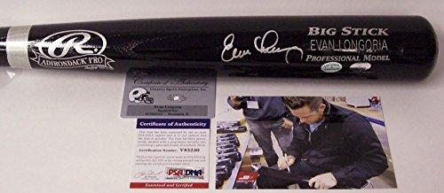 (Autographed Evan Longoria Bat - PSA/DNA Certified - Autographed MLB Bats)