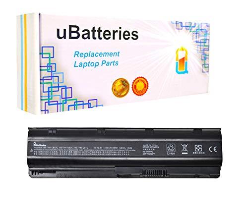 (UBatteries Compatible 48Whr Battery Replacement for HP Part# 593553-001 MU06 HSTNN-OB0Y HSTNN-Q60C HSTNN-Q61C HSTNN-Q62C HSTNN-YB0X NBP6A174 NBP6A174B1 NBP6A175 NBP6A175B1 586006-242 593562-001)