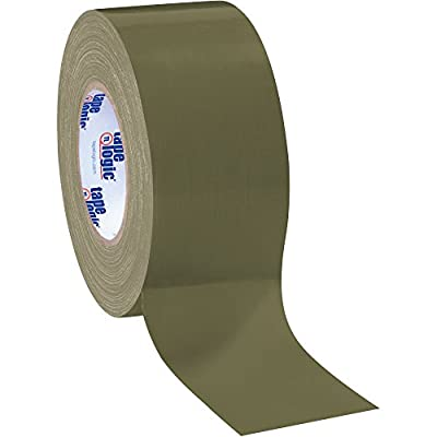 "Boxes Fast Tape Logic Duct Tape, 10 Mil, 3"" x 60 yds, Olive Green by Boxes Fast"