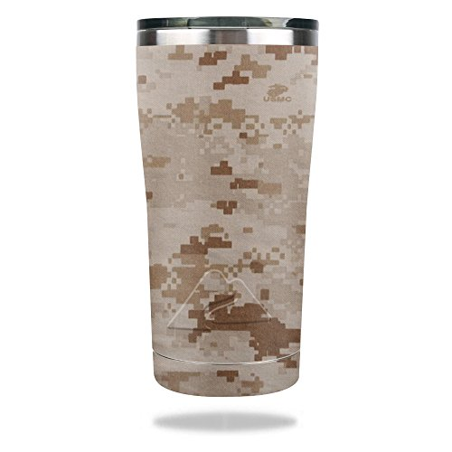 MightySkins Skin for Ozark Trail 20 oz Tumbler (2016) - Desert Camo | Protective, Durable, and Unique Vinyl Decal wrap Cover | Easy to Apply, Remove, and Change Styles | Made in The USA