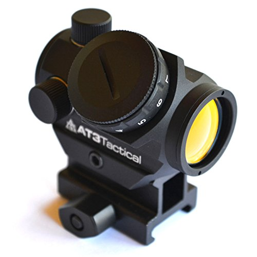AT3 Tactical RD-50 Red Dot Sight with Hi Mount