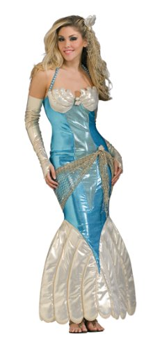 Male Mermaid Halloween Costumes - Rubie's Costume Co. Women's Mermaid Costume, As Shown, Standard
