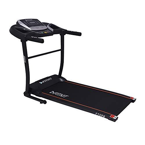 Fitkit FT098 1.5 HP (2 HP peak) Motorized Treadmill (Free Installation)
