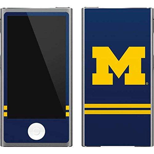 Skinit University of Michigan iPod Nano (7th Gen&2012) Skin - Michigan Logo Striped Design - Ultra Thin, Lightweight Vinyl Decal -