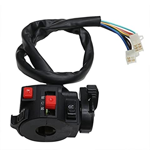 ZXTDR Kill Light Starter Choke Switch For ATV Quad 150cc 200cc 250cc 300cc TAOTAO Roketa - Choke Horn