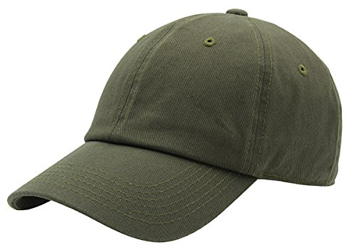 AZTRONA Baseball Cap for Men Women - 100% Cotton Classic Dad Hat, OLV Olive