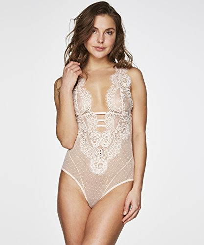 Hunkemöller Damen Body Lace Dot 114951