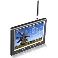 Lilliput 7 664/W FPV monitor 5.8GHz Wireless AV Receiver +LP-E6/F970/QM91D battery
