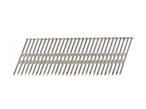 UPC 649853991563, B&C Eagle A238X113RSS/22 Round Head 2-3/8-Inch x .113 x 22 Degree S304 Stainless Steel Ring Shank Plastic Collated Framing Nails (500 per box)
