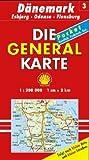 Die Generalkarten Dänemark, Bl.3, Veijle, Odense, Flensburg (Maßstab 1:200.000)