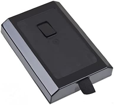 carcasa caja disco duro para XBOX 360 SLIM NUEVO NEGRO ...