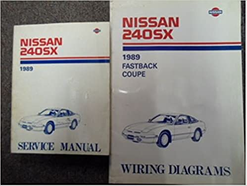 1989 Nissan 240sx Serice Repair Shop Manual Set Factory Oem Book 89 1989 Nissan 240sx Service Manual 1989 Nissan 240sx Wiring Diagram 1989 Nissan Technical Bulletins Nissan Amazon Com Books