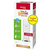 Playtex Diaper Genie Complete Assembled Diaper Pail with Odor Lock Technology...