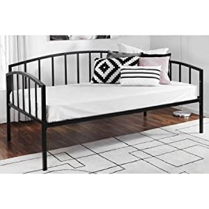 Amazon Com Mainstays Twin Metal Daybed Black Kitchen