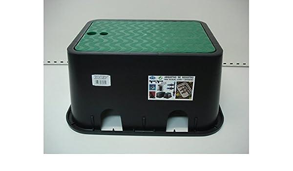 S&M 760815 Arqueta rectangular para riego enterrado 6 salidas: Amazon.es: Bricolaje y herramientas