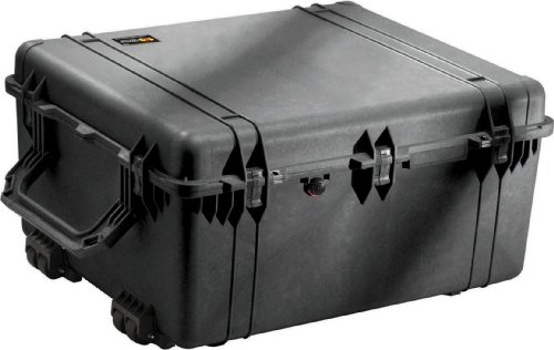 Pelican 1690 Case With Foam (Black)
