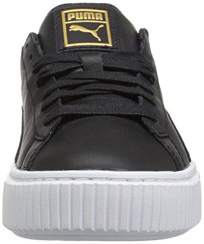 UK Puma Core Women's 7 Platform Black Basket Sneaker Gold xwgZAq8wrn