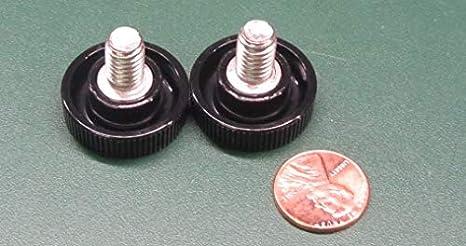 Plastic-Head Thumb Screw Thread Size 5//16-18 Thread Size 5//16-18 FastenerParts Acetal Knurled