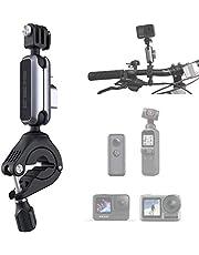 PGYTECH Actiecamera, fietshouder, aluminium, stuurhouder, fietsendrager, rolbeugelhouder, adapter voor sportcamera's, fietshouder, standaard, accessoires, 182 x 60 x 35 mm