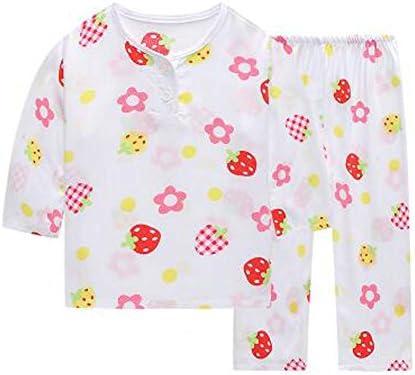 小さな女の子のかわいいパジャマコットン子供の服ショートセット子供の寝袋