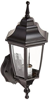 Boston Harbor DTDB Dusk/Dawn Outdoor Lantern, Black