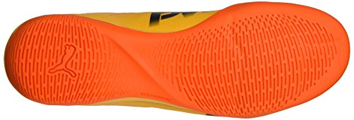 Puma Herren EvoPower Vigor 4 IT Fußballschuhe, 39 EU Orange (Ultra Yellow-Peacoat-Orange Clown Fish 03)