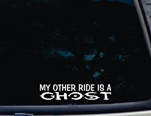 My other ride is a GHOST - 8