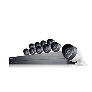 Samsung SDH-C75100 16 Channel 1080p HD 2TB Security System with 10 Cameras (Manufacturer Refurbished) - 30 Day Money Back Guarantee