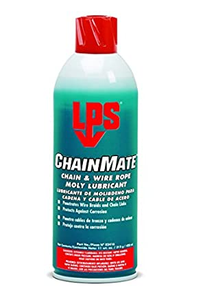 LPS ChainMate Chain and Wire Rope Lubricant, 11 oz Aerosol (Pack of ...